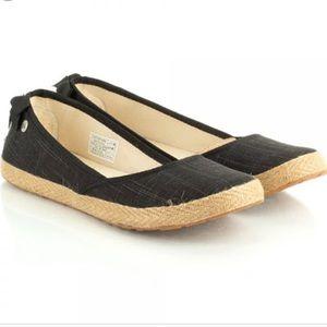 UGG Indah Espadrille Flat Canvas Sandals